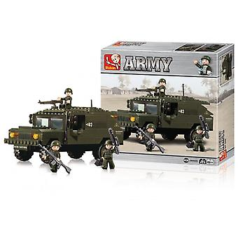 Sluban Building Blocks Army Serie SUV