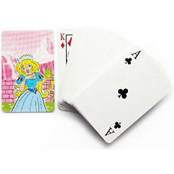 Princess playing cards - mini size