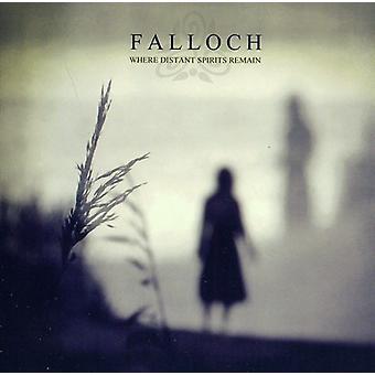 Falloch - hvor fjernt spiritus forblive [CD] USA importerer