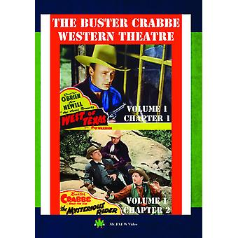 Buster Crabbe Western teater Vol 1 [DVD] USA import