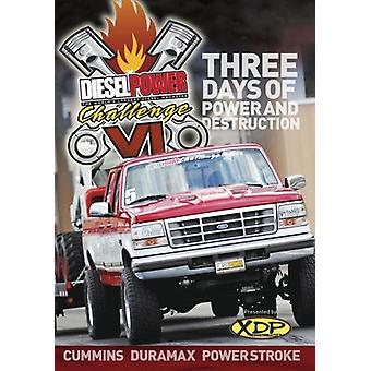 Diesel Power udfordring VI [DVD] USA importerer