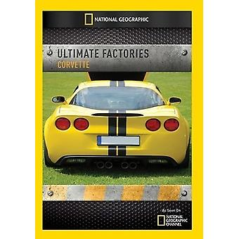 Ultimata fabriker: Corvette [DVD] USA import