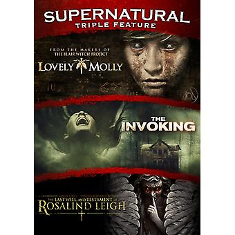 Supernatural Triple Feature: Last Will & Testament [DVD] USA import