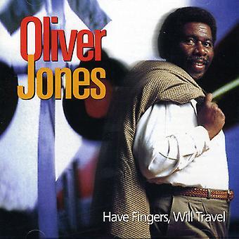 Oliver Jones - har fingre vil rejse [CD] USA import