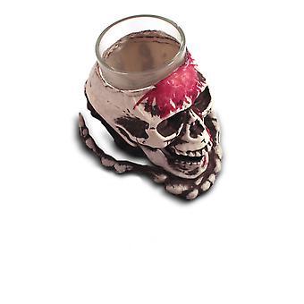 Skull and crossbones shot glass shot glass Halloween skull mug