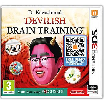 Dr Kawashimas Devilish Brain Training Can You Stay Focused 3DS