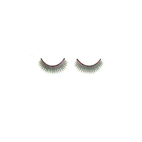 W.A.T Black Diamante False Eyelashes