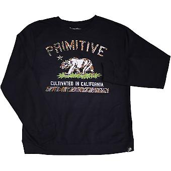 Primitive Apparel dyrkede Blaze Sweatshirt Navy