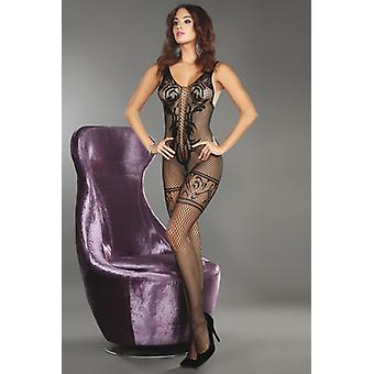 Ornate FishNet catsuit
