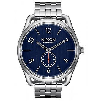 Nixon The C45 SS Watch - Silver/Navy