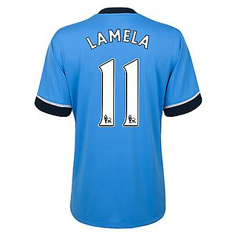 2015-16 Tottenham Away Shirt (Lamela 11)