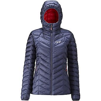 Rab Womens Nimbus Jacket Deep Ink/Passata (UK Size 10)