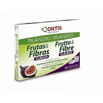Ortis Fruit And Fiber 24Cubitos (Diet)