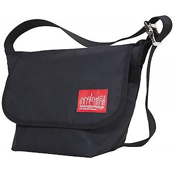 Manhattan Portage Small Waxed Vintage Messenger - Black