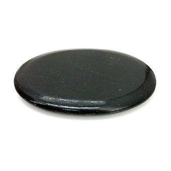 Royal Massage 12pc Medium platt Basalt heta stenen som F
