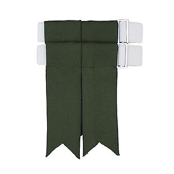 Muted Green House of Edgar Kilt Flashes