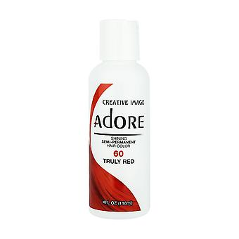 Creative Image Adore Shine Semi-Permanent Color 60 Truly Red 118ml