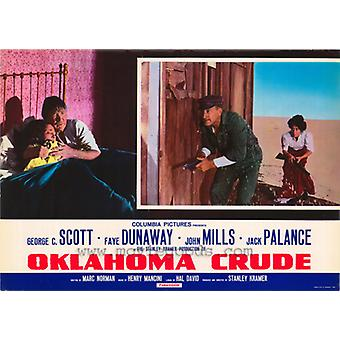 Oklahoma crudo Movie Poster (11 x 17)