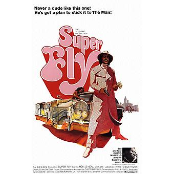 Super Fly Poster Poster Print