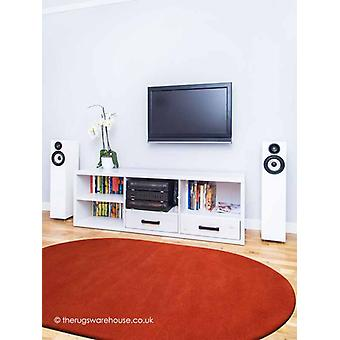 Confort Burnt Orange ovale tapis