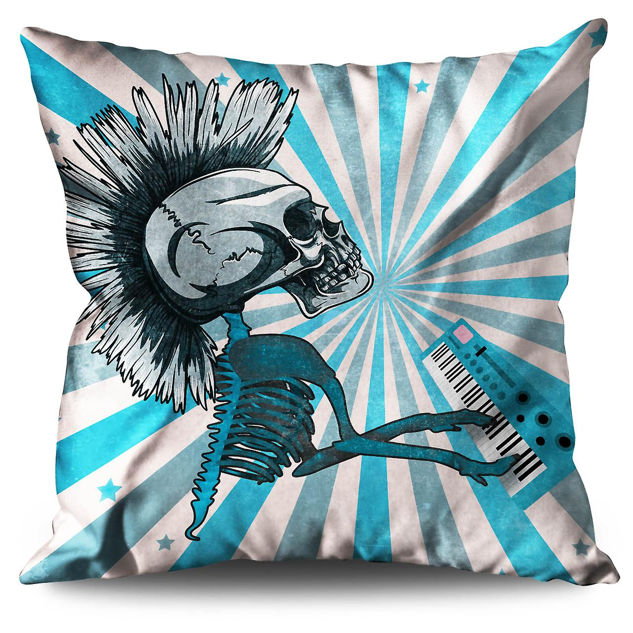 Cushion Music Funk 30cm Skeleton Linen XWellcoda rthsdCxQ
