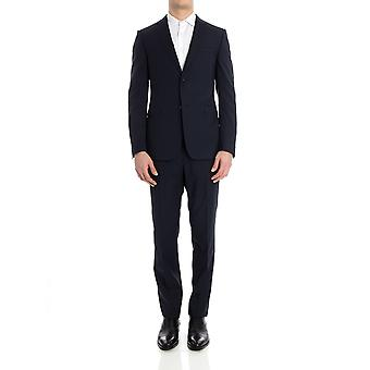 Z Zegna men's 520701281CGN8R blue wool suit