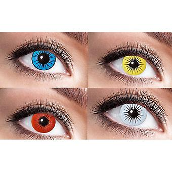 Star star contact lenses