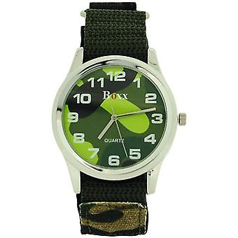 Boxx Gents Jumbo Camouflage armée Dial & armée facile fixer sangle Watch BOXX280