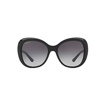 Bvlgari Fan Temple Detail Sunglasses In Black