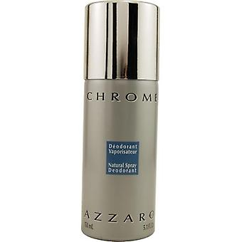 Chrome By Azzaro Deodorant Spray 5.1 Oz