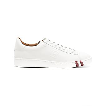 Bally women's 620588007 White leather of sneakers