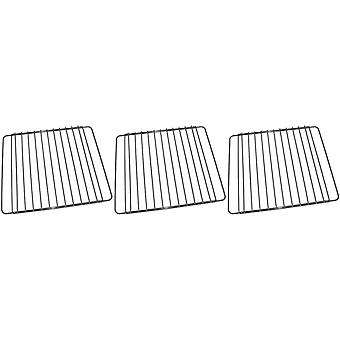 3 x universele Oven fornuis Grill plank raster Rack past Bosch