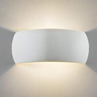 Astro Milo 1 LED Wall Light White Ceramic