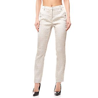 Jacquard pants ladies grey travel Couture by heine