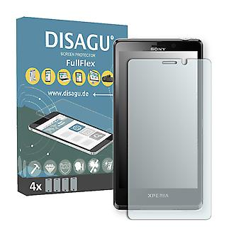 Sony Xperia LT30at screen protector - DISAGU FullFlex protector