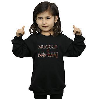 Phantastische Tierwesen Mädchen keine Muggel keine Maj-Sweatshirt