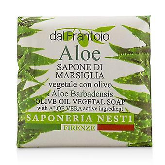 Nesti Dante Dal Frantoio Olive Oil Vegetal Soap - Aloe Vera - 100g/3.5oz