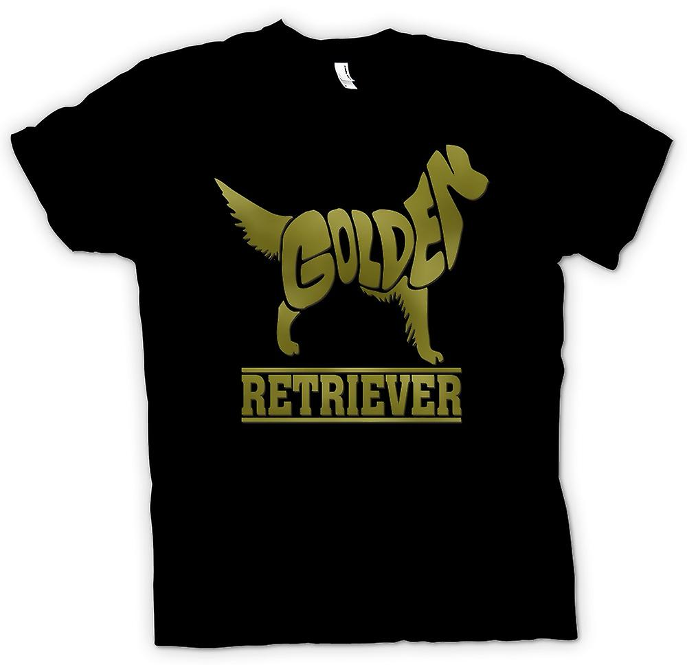 Herr T-shirt-Golden Retriever