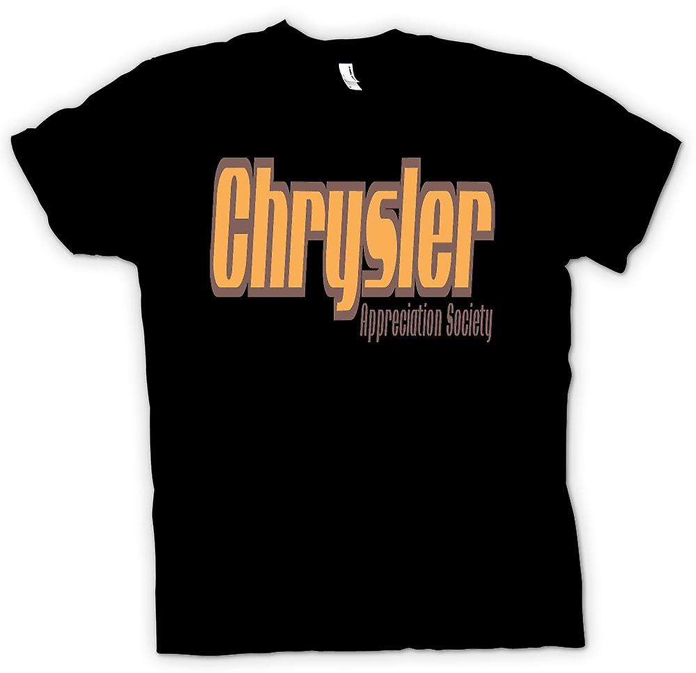 Womens T-shirt-Chrysler Appreciation Society