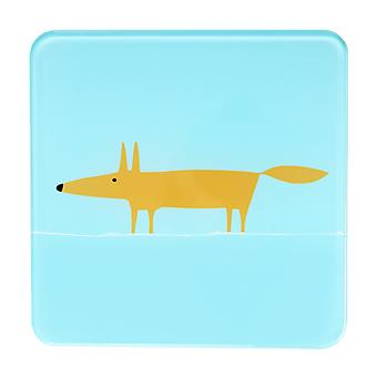 Scion Mr Fox Blue Pot Stand