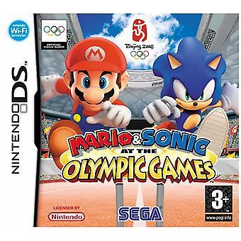 Mario Sonic op de Olympische spelen (Nintendo DS)