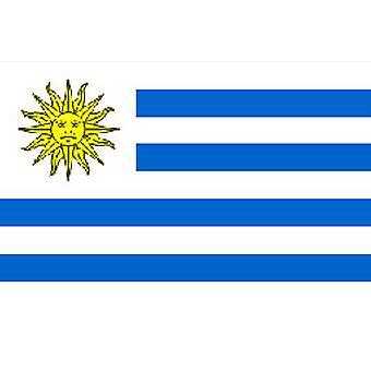Uruguay Flag 5ft x 3ft With Eyelets