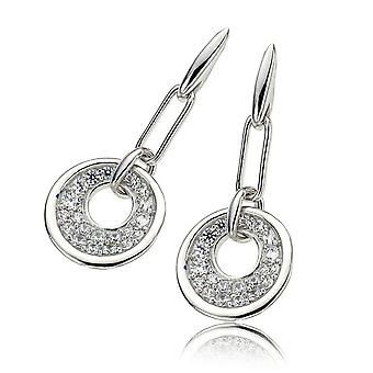 Orphelia argento 925 orecchino cerchio Grande zirconio ZO-5961