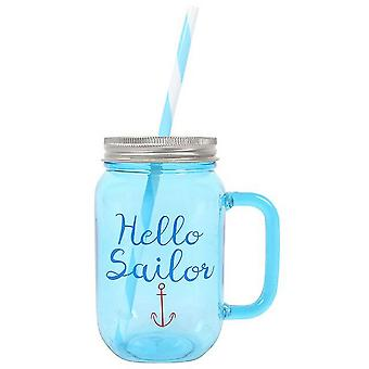 Something Different Anchor Drinking Jar