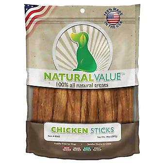 Natural Value Treats 14oz-Chicken Sticks