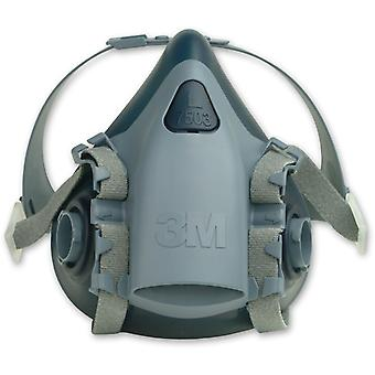 3M 7503 3M Soft Silicone Half Mask-Large
