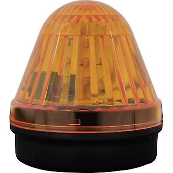 Light LED ComPro Blitzleuchte BL50 2F Yellow Non-stop light signal, Flash 24 Vdc, 24 V AC