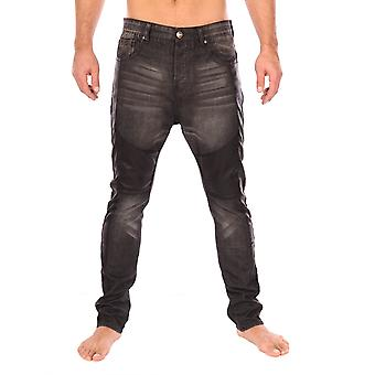 Slim jeans Black 6JKD Sixth June Paris Man