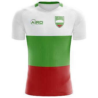 2018-2019 بلغاريا العلم مفهوم كرة القدم قميص