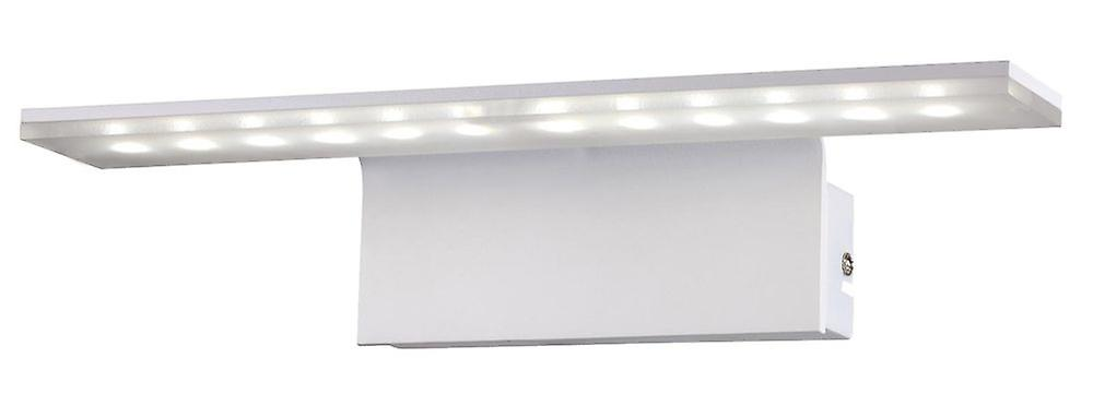 LED Bilderleuchte Spiegelleuchte Ledri Pic L: 35cm 16W 3000K Alu mattweiß 10704